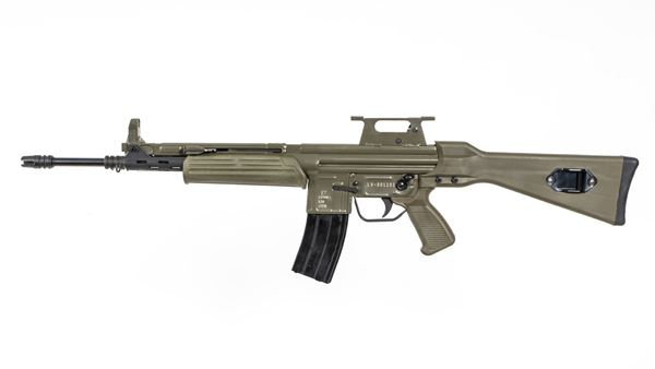 Picture of MarColMar Firearms CETME LV Spanish Green Semi-Automatic Rifle