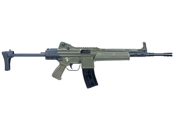 Picture of MarColMar Firearms CETME LC GEN 2 223 Rem / 5.56x45mm Spanish Green Semi-Automatic Rifle with Rail