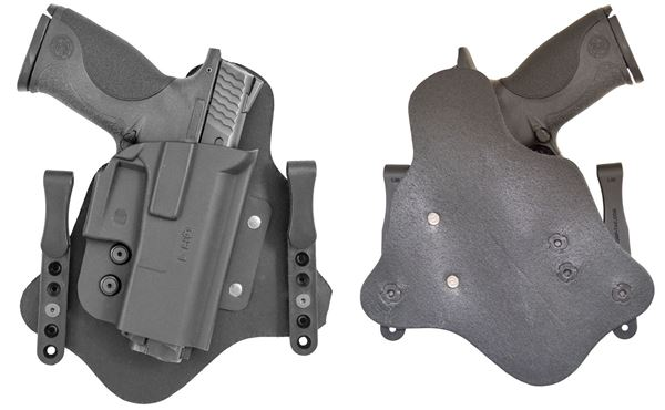 Picture of CompTac QH IWB Hybrid Holster- Modular Fit -Size 1-Black