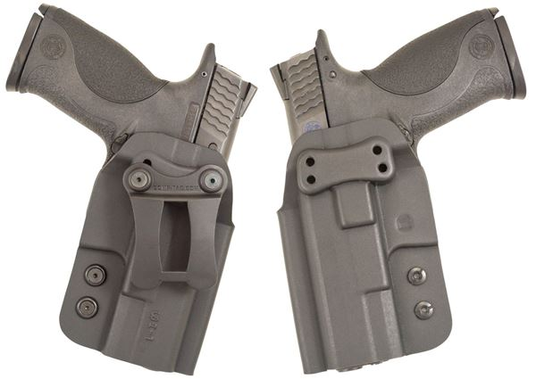 Picture of CompTac QI IWB Kydex Holster- Modular Fit-Size 3-Black