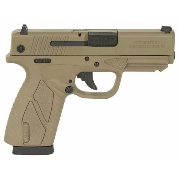 Picture of Bersa 9mm Conceal Carry Double Action Flat Dark Earth 8 Round Pistol