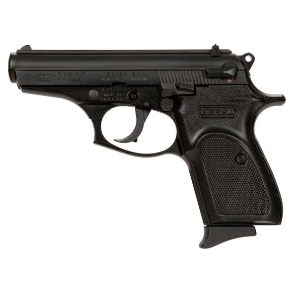 Picture of Bersa Thunder 22LR Black Semi-Automatic 10 Round Pistol