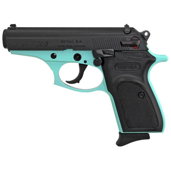 Picture of Bersa Thunder 380 ACP Robin Egg Blue Semi-Automatic 8 Round Pistol