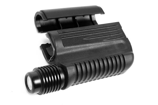 Picture of Arsenal Original Bulgarian Mil-Spec Black Polymer Handguard Set with Integrated Flashlight