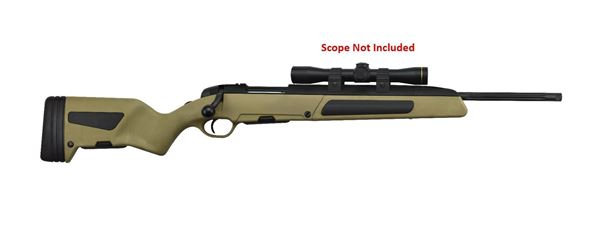 Picture of Steyr Arms Scout 5.56x45mm / 223 Rem Green Bolt Action 5 Round Rifle