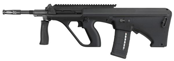 Picture of Steyr Arms AUG A3 M1 NATO 5.56x45mm / 223 Rem Black Semi-Automatic Rifle with Extended Rail