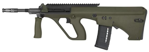 Picture of Steyr Arms AUG A3 M1 NATO 5.56x45mm / 223 Rem Green Semi-Automatic Rifle with Extended Rail