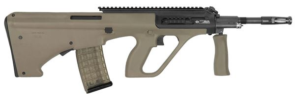 Picture of Steyr Arms AUG A3 M1 5.56x45mm / 223 Rem Mud Semi-Automatic Rifle with Extended Rail