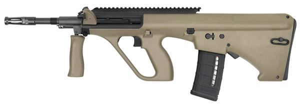 Picture of Steyr Arms AUG A3 M1 NATO 5.56x45mm / 223 Rem Mud Semi-Automatic Rifle with Extended Rail