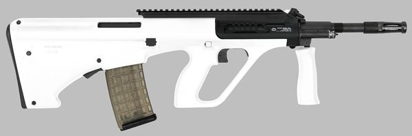 Picture of Steyr Arms AUG A3 M1 5.56x45mm / 223 Rem White Semi-Automatic Rifle with Extended Rail