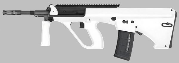 Picture of Steyr Arms AUG A3 M1 NATO 5.56x45mm / 223 Rem White Semi-Automatic Rifle with Extended Rail