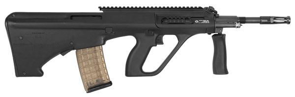 Picture of Steyr Arms AUG A3 M1 5.56 / 223 Black Semi-Auto Rifle with Extended Rail