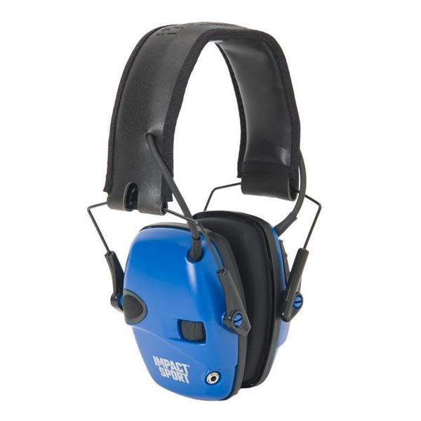 Picture of Howard Leight Impact Sport Classic Real Blue Electronic Earmuff