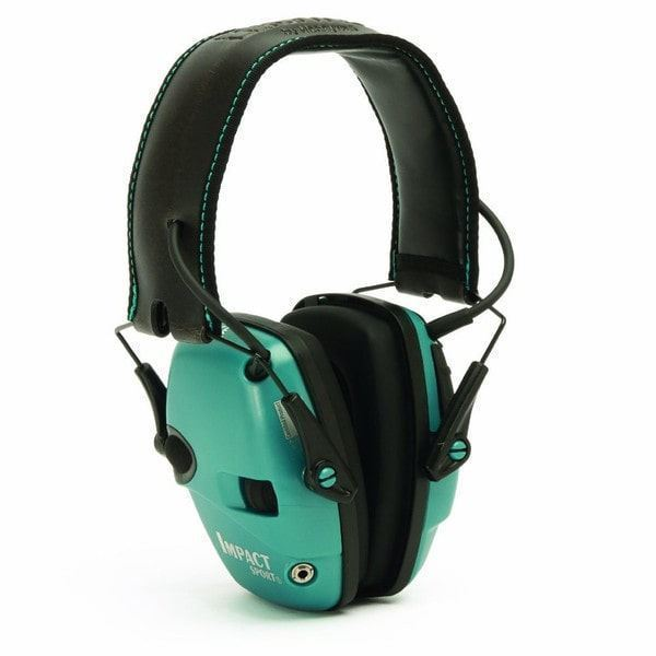 Picture of Howard Leight Impact Sport Teal Electronic Earmuff