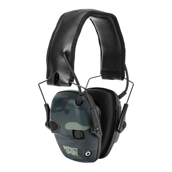 Picture of Howard Leight Impact Sport Black MultiCam Electronic Earmuff