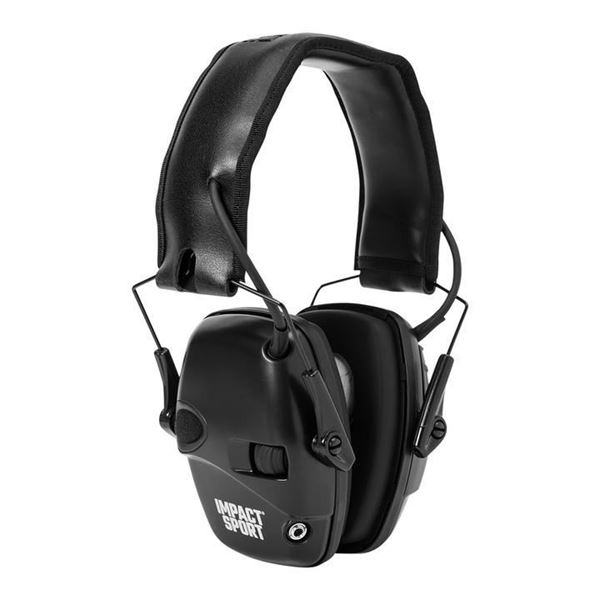 Picture of Howard Leight Impact Sport Black Electronic Earmuff