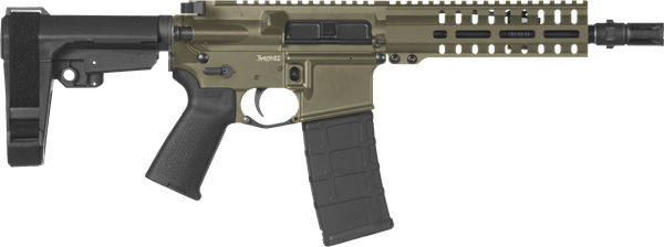 Picture of CMMG Banshee 300 Mk4 300 AAC Blackout OD Green Semi-Automatic 30 Round Pistol