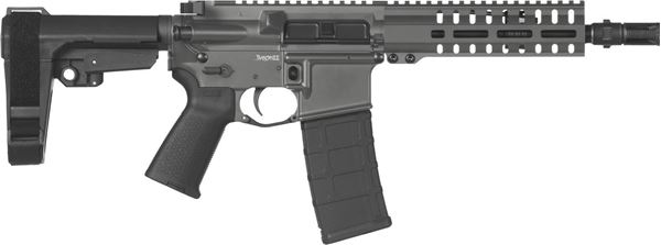 Picture of CMMG Banshee 300 Mk4 300 AAC Blackout Sniper Grey Semi-Automatic 30 Round Pistol