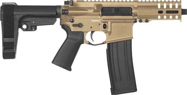 Picture of CMMG Banshee 300 Mk4 5.7x28mm Flat Dark Earth Semi-Automatic 30 Round Pistol
