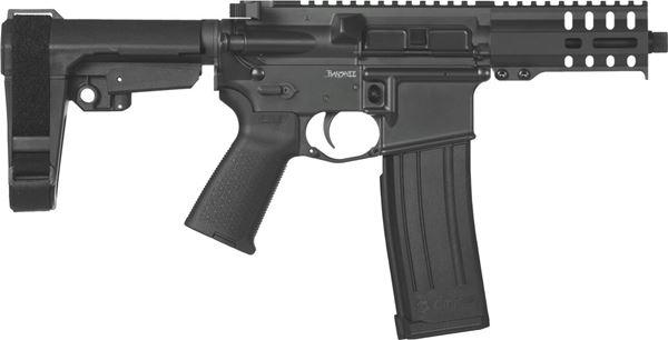 Picture of CMMG Banshee 300 Mk4 5.7x28mm Graphite Black Semi-Automatic 30 Round Pistol