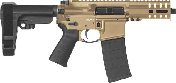Picture of CMMG Banshee 300 Mk4 9mm Flat Dark Earth Semi-Automatic 30 Round Pistol
