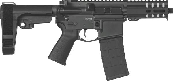 Picture of CMMG Banshee 300 Mk4 9mm Graphite Black Semi-Automatic 30 Round Pistol