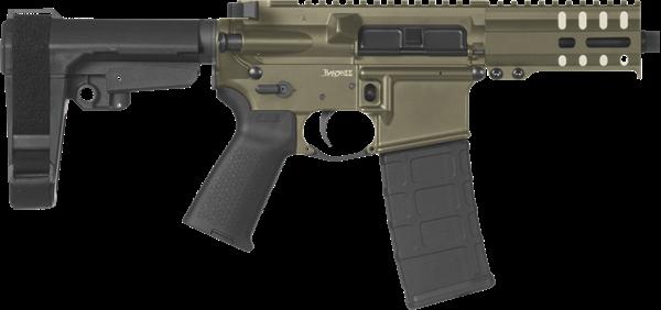 Picture of CMMG Banshee 300 Mk4 9mm OD Green Semi-Automatic 30 Round Pistol