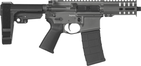 Picture of CMMG Banshee 300 Mk4 9mm Sniper Grey Semi-Automatic 30 Round Pistol