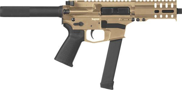 Picture of CMMG Banshee 300 MkGs 9mm Flat Dark Earth Semi-Automatic 30 Round Pistol