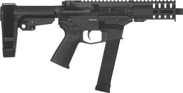 Picture of CMMG Banshee 300 MkG 45 ACP Graphite Black Semi-Automatic 30 Round Pistol