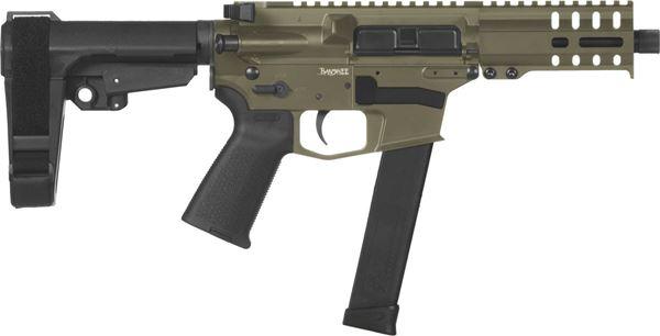 Picture of CMMG Banshee 300 MkG 45 ACP OD Green Semi-Automatic 30 Round Pistol