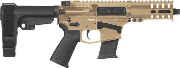 Picture of CMMG Banshee 300 Mk57 5.7x28mm Flat Dark Earth Semi-Automatic 30 Round Pistol