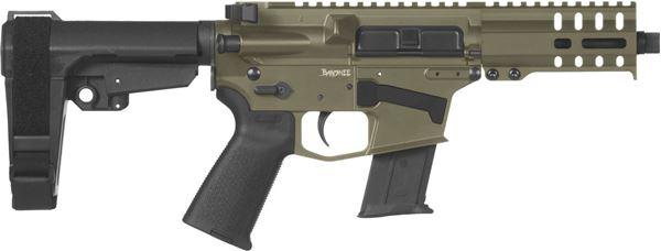 Picture of CMMG Banshee 300 Mk57 5.7x28mm OD Green Semi-Automatic 30 Round Pistol