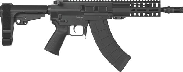 Picture of CMMG Banshee 300 Mk47 7.62x39mm Graphite Black Semi-Automatic 30 Round Pistol