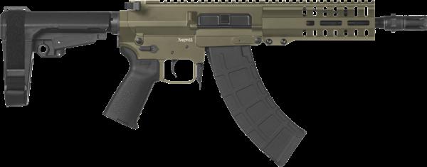 Picture of CMMG Banshee 300 Mk47 7.62x39mm OD Green Semi-Automatic 30 Round Pistol