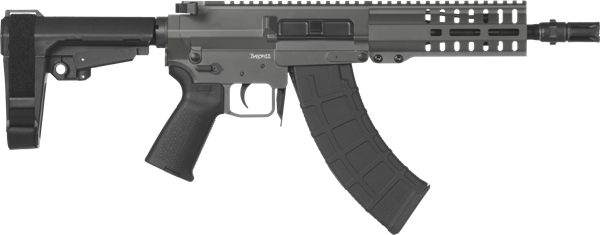 Picture of CMMG Banshee 300 Mk47 7.62x39mm Sniper Grey Semi-Automatic 30 Round Pistol