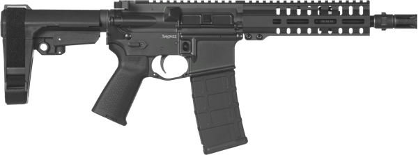 Picture of CMMG Banshee 300 Mk4 300 AAC Blackout Graphite Black Semi-Automatic 30 Round Pistol