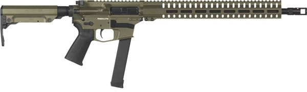 Picture of CMMG Resolute 300 MkGs 9mm OD Green Semi-Automatic Rifle
