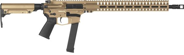 Picture of CMMG Resolute 300 MkGs 9mm Flat Dark Earth Semi-Automatic Rifle