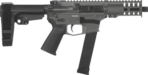 Picture of CMMG Banshee 300 MkG 45 ACP Sniper Grey Semi-Automatic 30 Round Pistol
