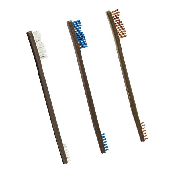 Picture of Otis Technology Pack of 3 Blue / White / Bronze AP Brushes