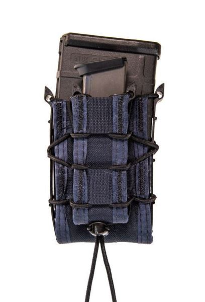 Picture of High Speed Gear Double Decker MOLLE 1 Rifle 1 Pistol Magazine Holster