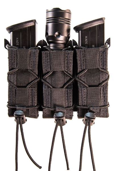 Picture of High Speed Gear Pistol TACO MOLLE Triple Magazine Pouch