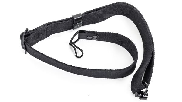 Picture of Arsenal Black Canvas Sling 2-Point Attachment QD and Hook Fits SAM7K-34