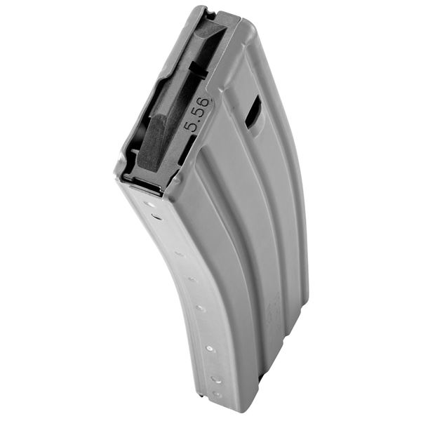 Picture of DURAMAG Speed™ 223 Rem 300 Blk 30 Round AR-15 Style Aluminum Gray Magazine Black AGF