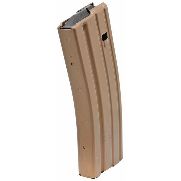 Picture of DURAMAG Speed™ 223 Rem 300 Blk 30 Round AR-15 Style Bronze Aluminum Magazine Black AGF