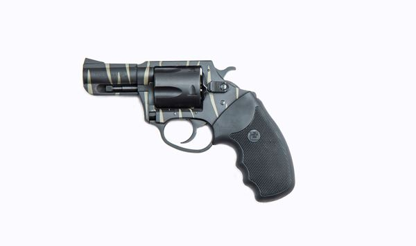 Picture of Charter Arms Bulldog Tiger .44 Special 5rd Revolver Black Tiger Stripe
