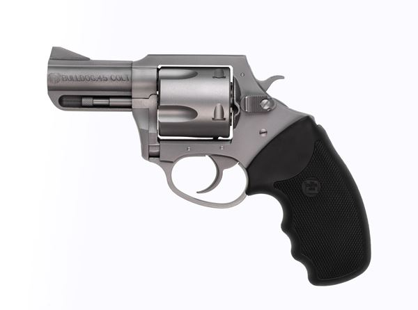 """Picture of Charter Arms Bulldog .45 Long Colt 2.5"""" Barrel 5rd Stainless Steel Revolver"""
