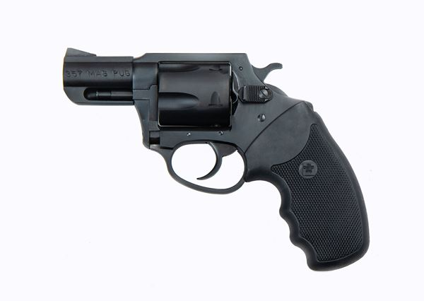"""Picture of Charter Arms Mag Pug  .357 Mag 2.2"""" Barrel 5rd Blacknitride Stainless Steel Revolver"""