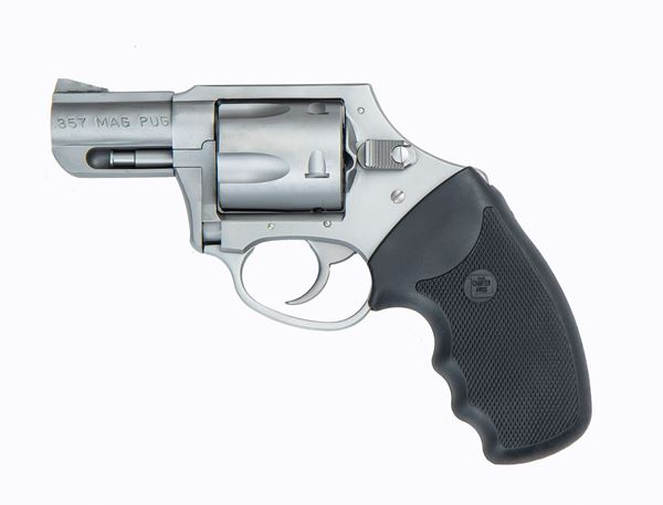 """Picture of Charter Arms Mag Pug .357 Mag Stainless Steel 2.2"""" Barrel DAO Revolver"""